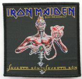 Iron Maiden - 'Seventh Son' Woven Patch